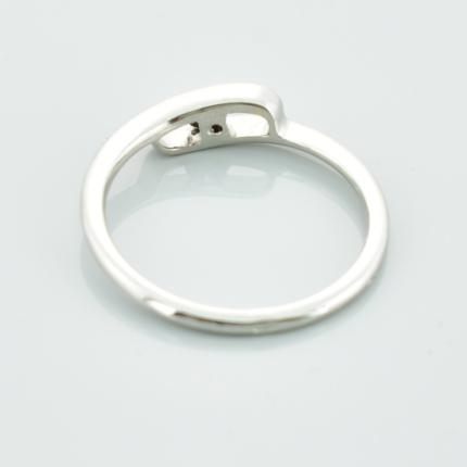Zdjęcie nr. 2 Pierścionek zaręczynowy z białego złota