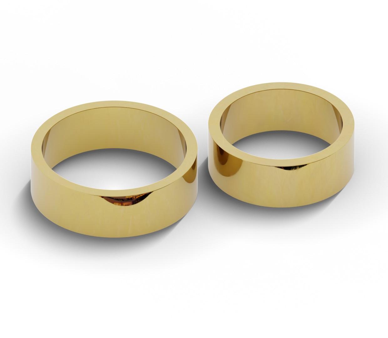 7 mm obrączki ślubne ze złota