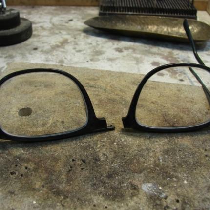 Pęknięte okulary