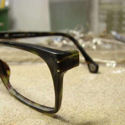 Zdjęcie nr. 4 Klejenie okularów z elementem metalowym