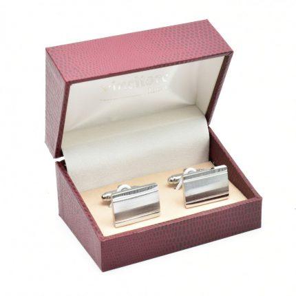 Spinki do mankietów ze stali – model 003