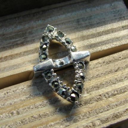 Zdjęcie nr. 10 Renowacja srebrnego pierścionka z perłą i markazytami