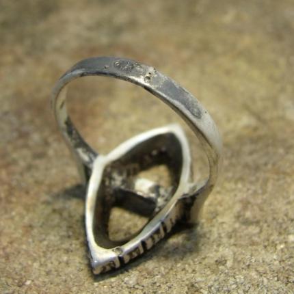 Zdjęcie nr. 4 Renowacja srebrnego pierścionka z perłą i markazytami