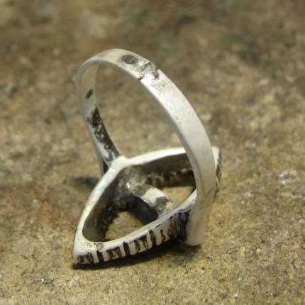 Zdjęcie nr. 5 Renowacja srebrnego pierścionka z perłą i markazytami