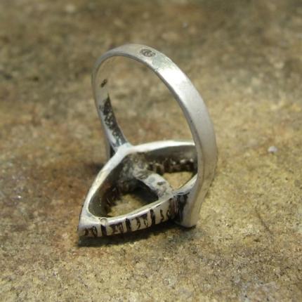 Zdjęcie nr. 6 Renowacja srebrnego pierścionka z perłą i markazytami