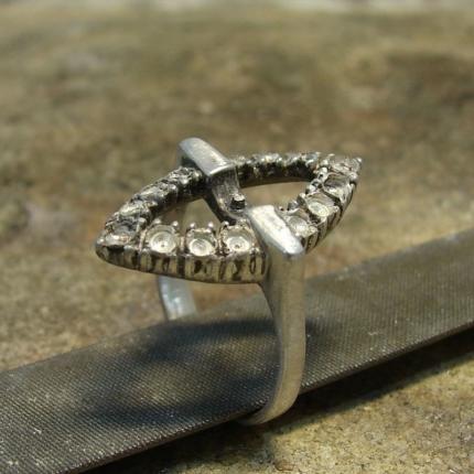 Zdjęcie nr. 7 Renowacja srebrnego pierścionka z perłą i markazytami
