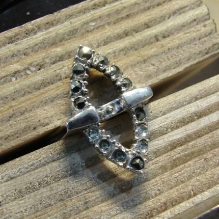Zdjęcie nr. 9 Renowacja srebrnego pierścionka z perłą i markazytami