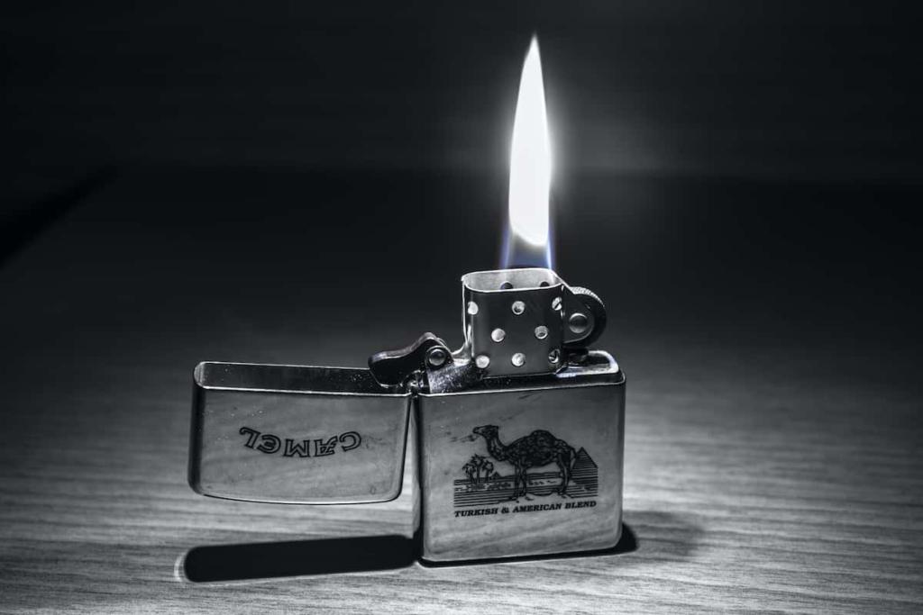 Zapalniczki benzynowe Zippo mogą być świetnym  prezentem na dzień ojca .