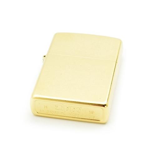 Zippo 207G Classic Brass Gold Dust.