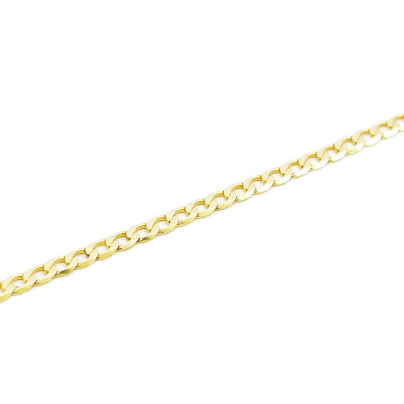 Złota pancerka - wyrób ze złota próby 585.