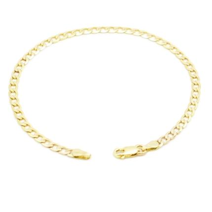 Złota bransoletka pancerka 2,75 g