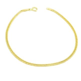 Wykonana z żółtego złota podwójna pancerka.
