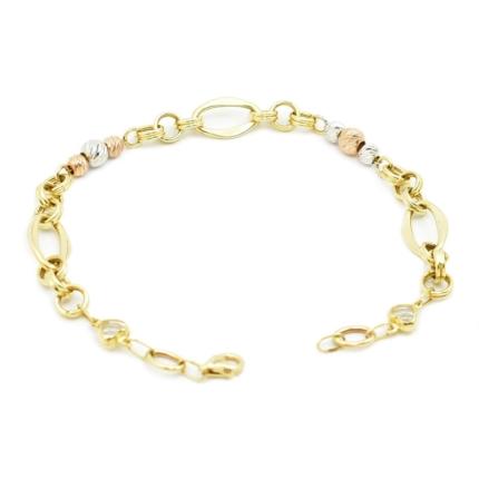 Złota bransoletka nowoczesna – 4,50 g