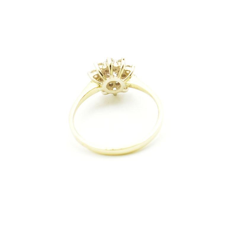 Wnętrze złotego pierścionka pb-0083