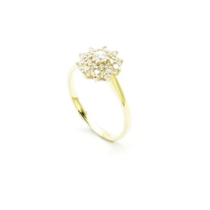 Złoty pierścionek PB-0083