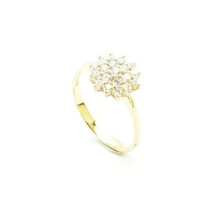 Złoty pierścionek PB-0085
