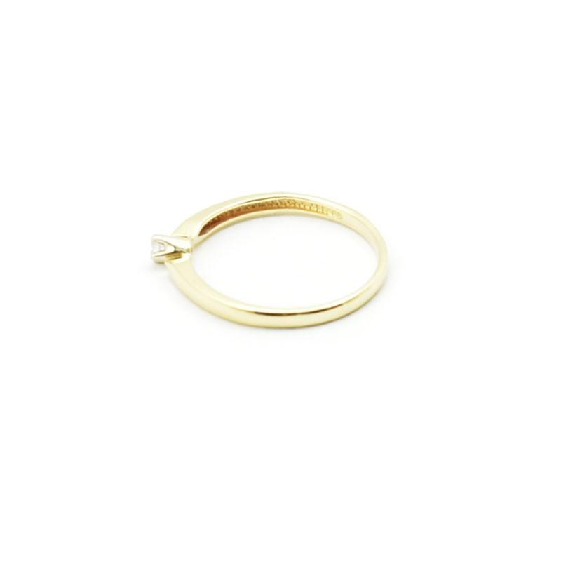 Złoty pierścionek BP 0093